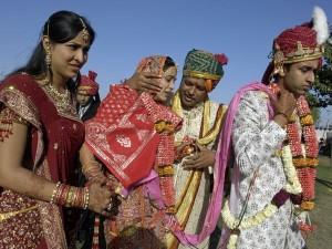 Indian Wedding Bride Vidai