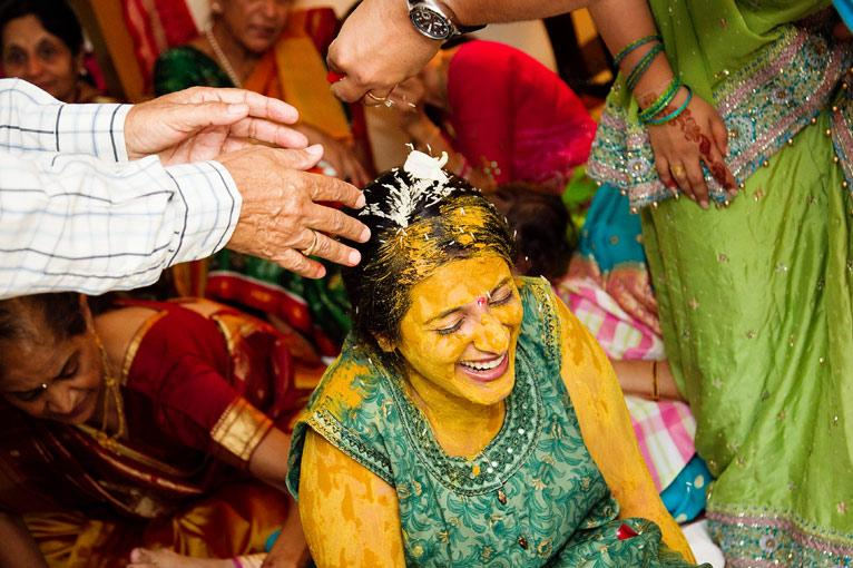 Generally The Bride And Groom Have Separate Pithi Ceremonies At Their Family Homes Is A Paste Made Mainly Of Turmeric