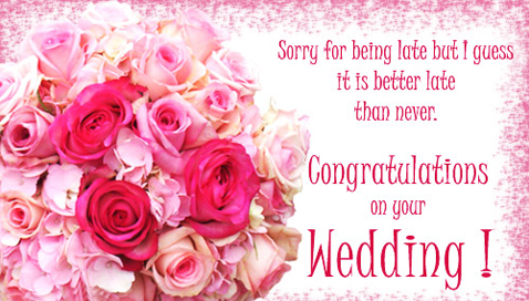 Top Spoken Wishes 1 Congratulations And Best On Your Wedding