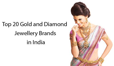 Top 20 Gold and Diamond Jewellery Brands in India