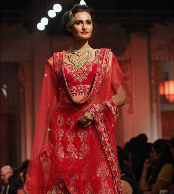 Mughal Bridal look