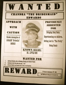 Wanted Poster Wedding Invitation