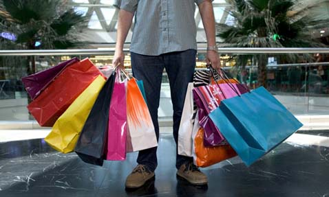 shopping for boys