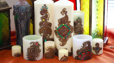 Henna candles Gifts