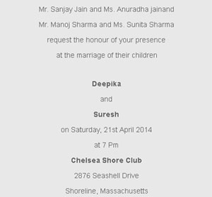 wedding invitation wording for divorced parents