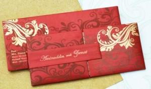 indian wedding invitations designs