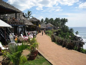 Wedding beach in Kerala