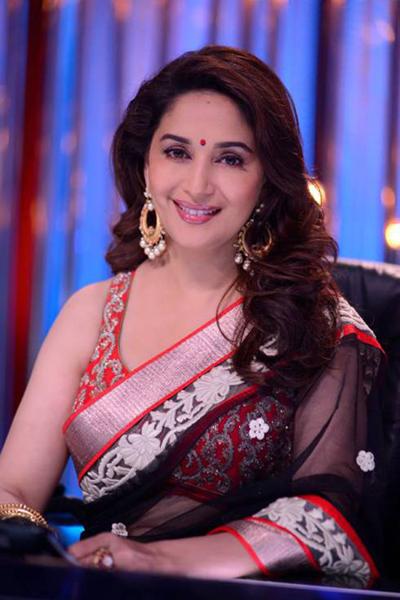 Black & Red Sari