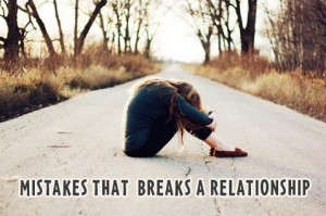 Break up a Relationship