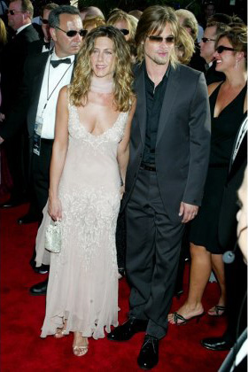 Jennifer Aniston Wedding Gown
