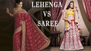 Lehenga or Saree