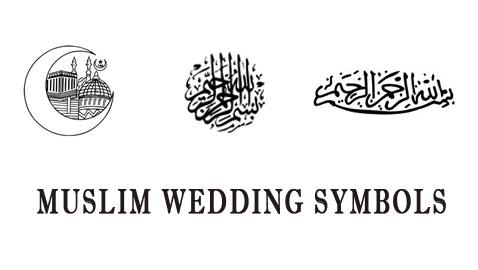 Muslim Wedding Symbols