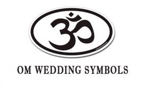 Om Wedding Symbols