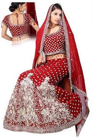 Rad Wedding Ghagra Cholis