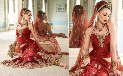 Indian Wedding Ghagra Cholis