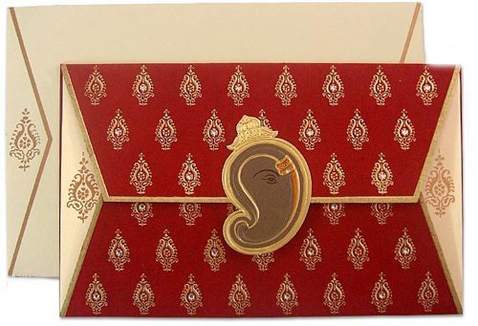 write in Indian wedding cards