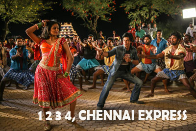 1 2 3 4, Chennai Express