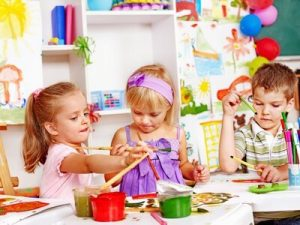 Colorful Craft Party for baby