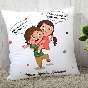Customized Pillow for Little Brother & Sister
