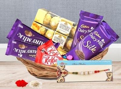 Rakhi Chocolate Gifts for Children
