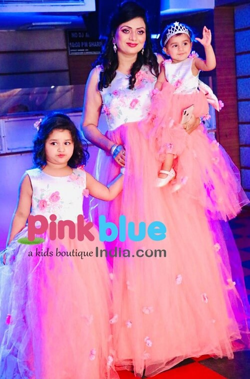 Latest Trend Mom and Daughter Same Dress In India