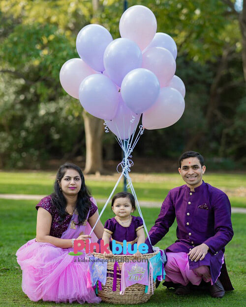 Mom Dad and Daughter Matching Outfits for Birthday