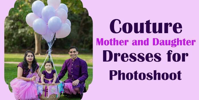 Mother daughter outfits for photoshoot